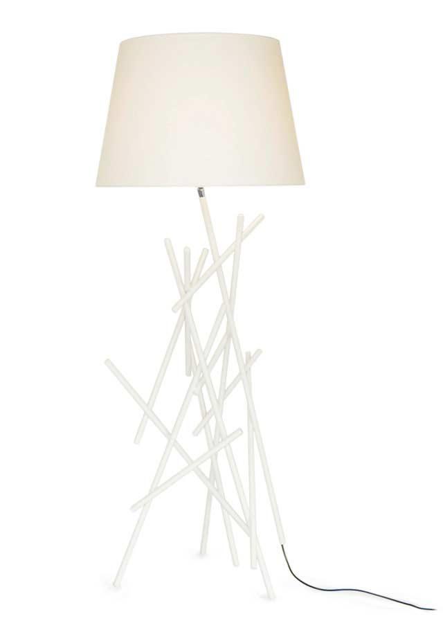 Roots floor lamp
