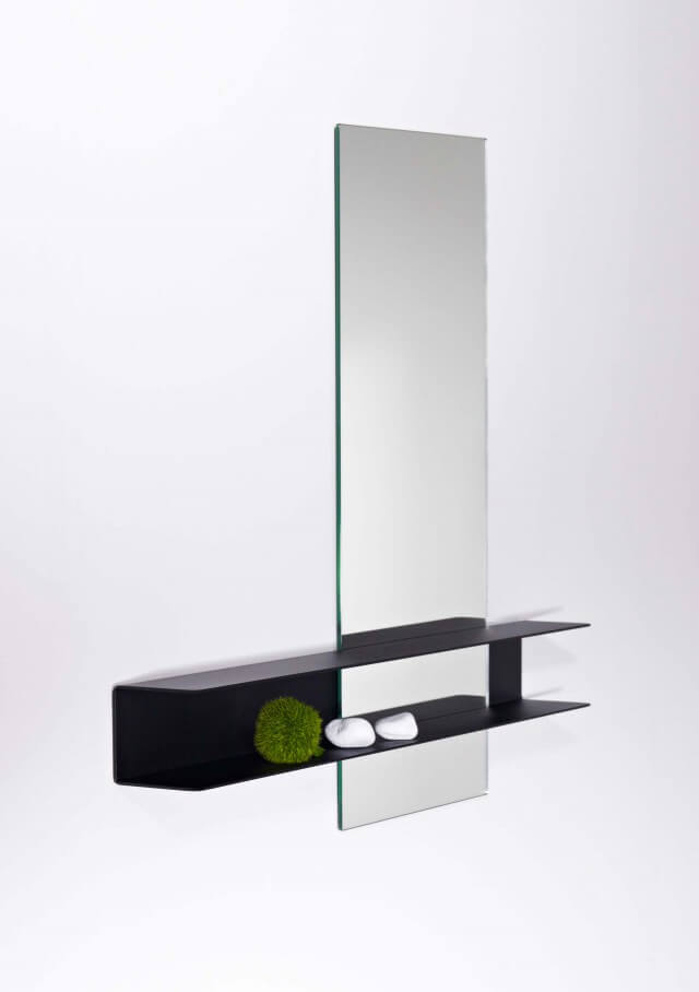 Slide mirror – Double
