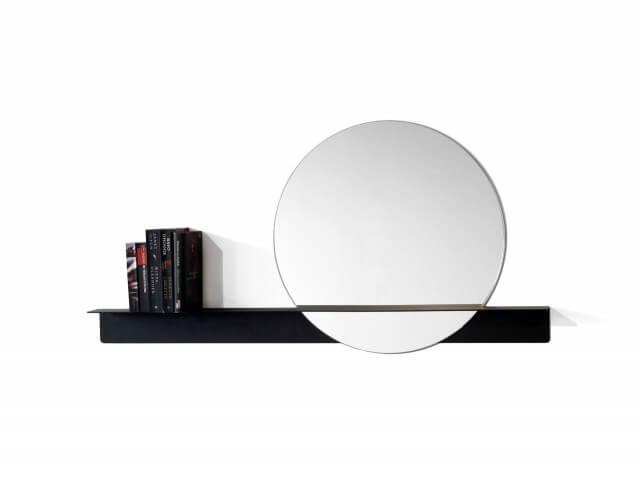 Slide mirror – round