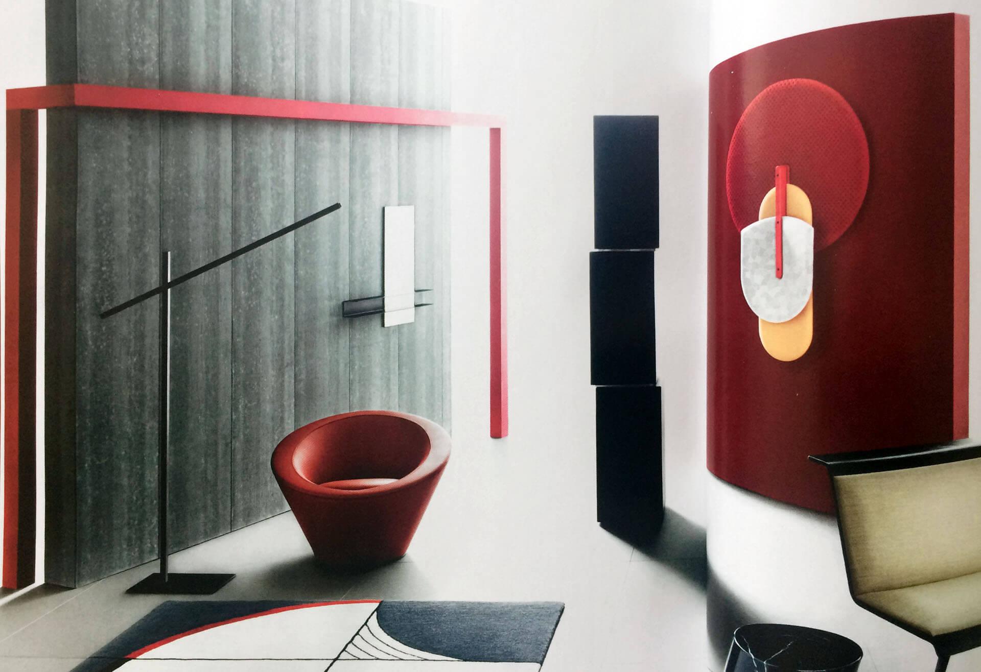 Slide Mirror Double In Wallpaper