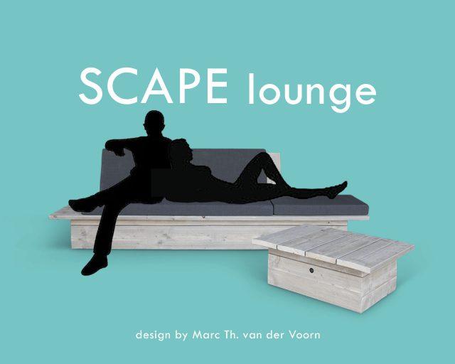 SCAPE lounge sofa