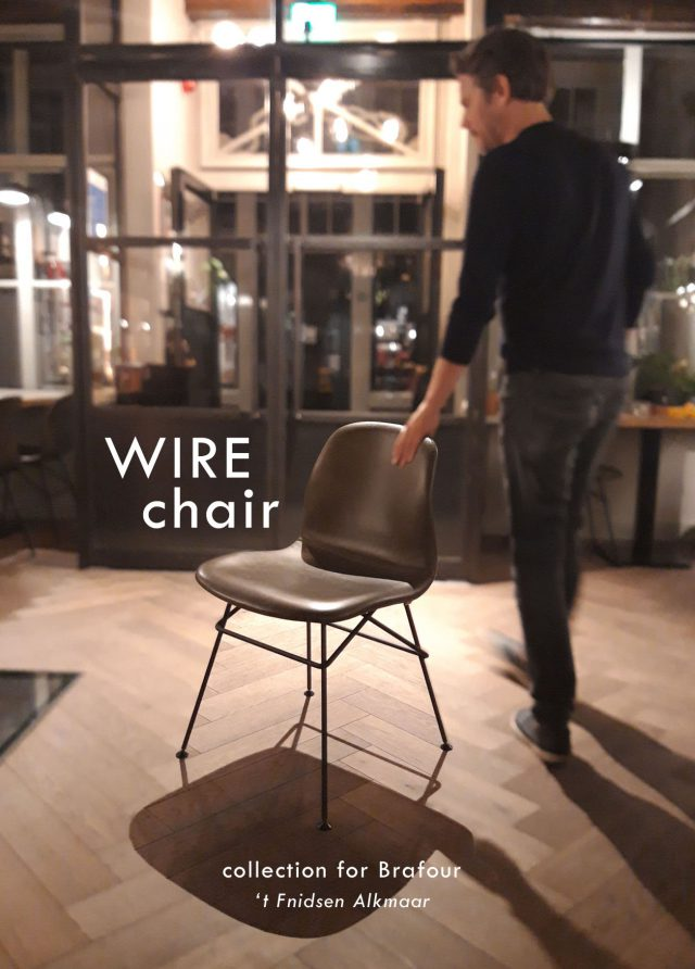 Wire chair at t Fnidsen